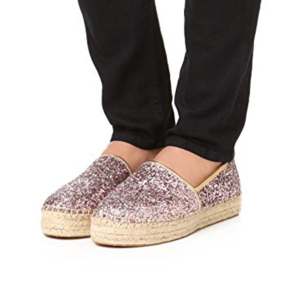 0ca3b56df855 kate spade Shoes - Kate Spade Linds Too Glitter Espadrilles 6